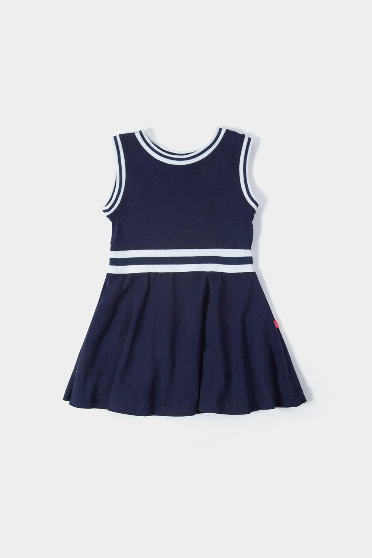 Vestido azul sin mangas / Colección Xolo