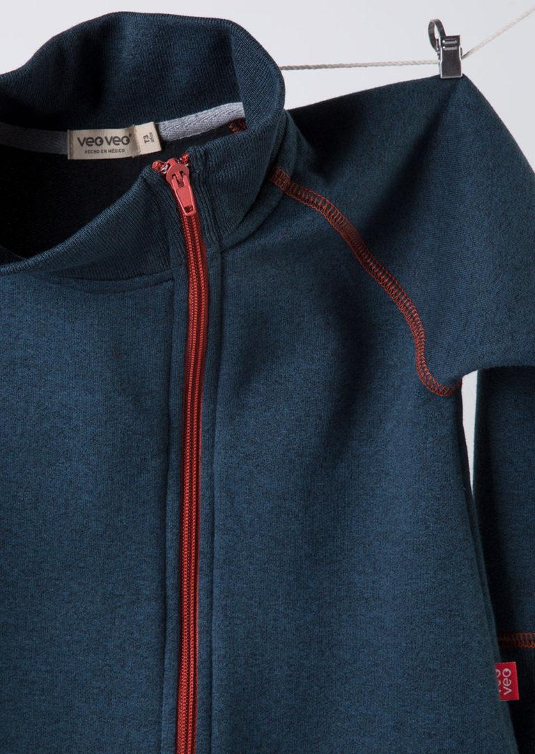 chaqueta color azul