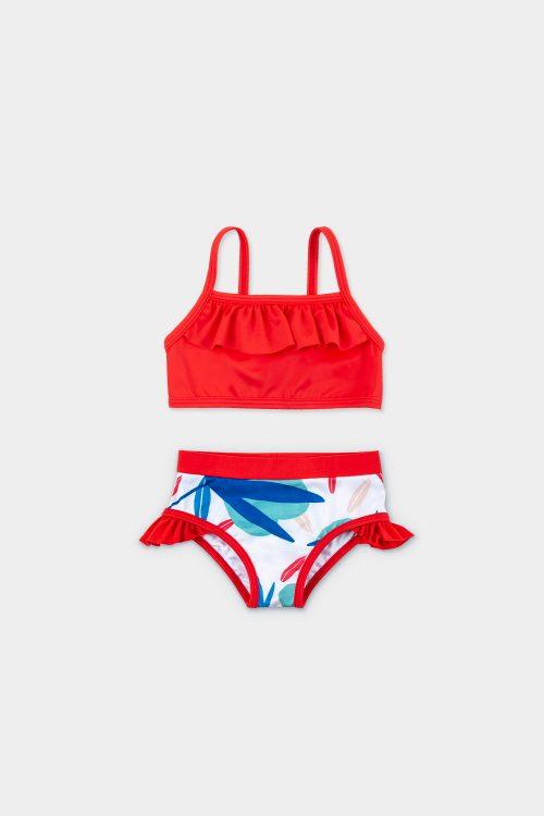 bikini + top veoveo traje de baño