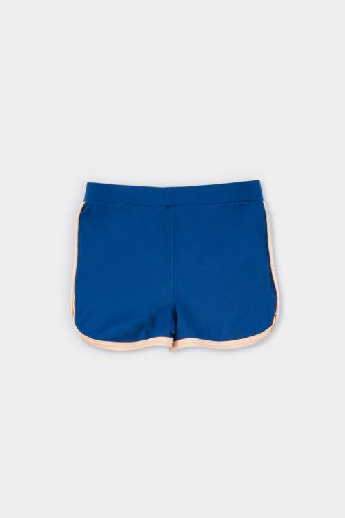 Traje de baño, Retro Blue Short foto de producto dorso
