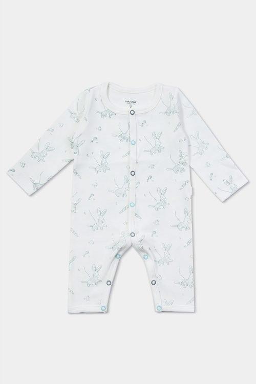 mameluco bebé piñatas de algodón orgánico foto de producto