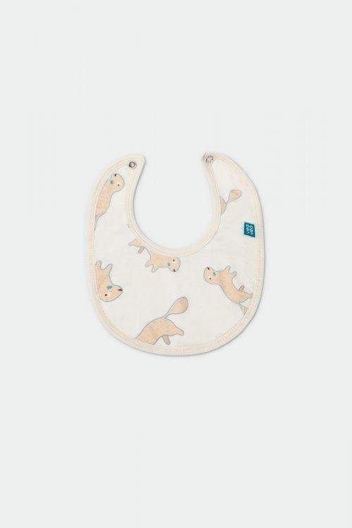 veoveo.store babero-blanco-perrito-frente foto de producto
