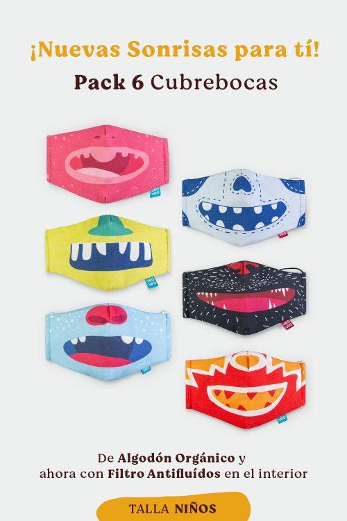 cubrebocas de tela para niños, estampado de animales