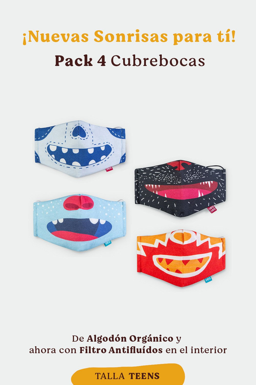 veoveo.store_cubrebocas pack4 Teens