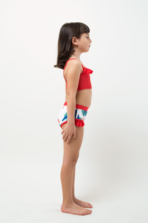 veoveo eco swimwear - Bikini & top - Tropical - girl right view