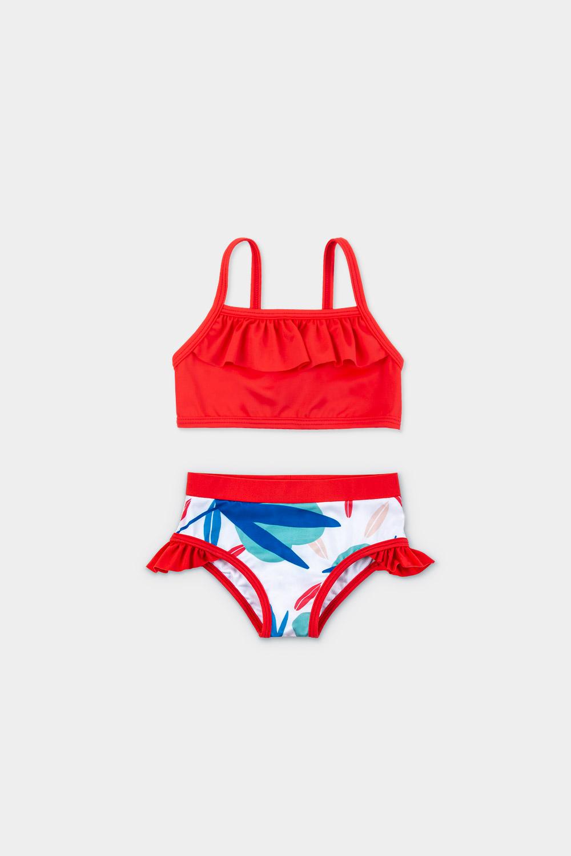 veoveo eco swimwear - Bikini & top - Tropical - Product Front