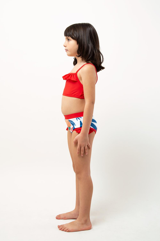 veoveo eco swimwear - Bikini & top - Tropical - girl side view
