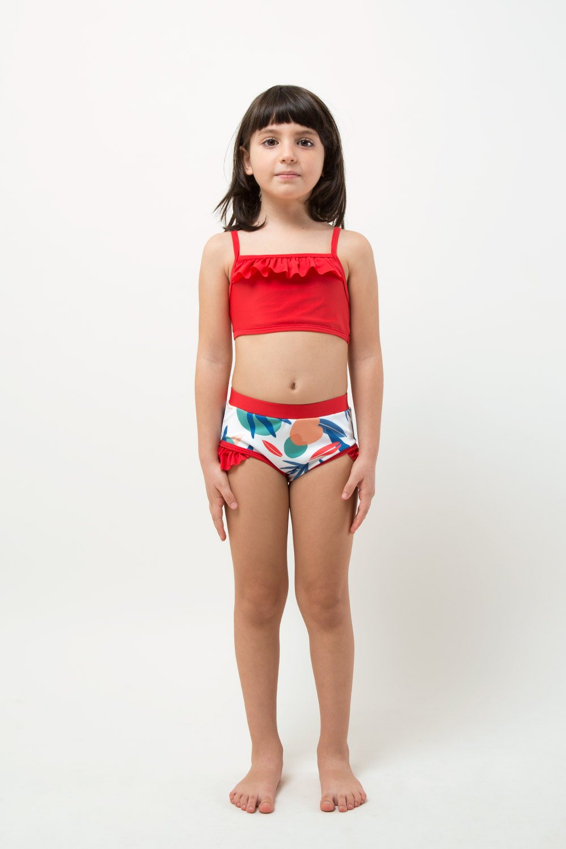veoveo eco swimwear - Bikini & top - Tropical - girl Front view
