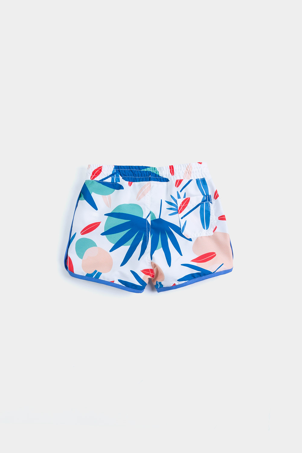 Eco Friendly Swimwear / Tropical footprint short / New Collection Footprint 2020 back view