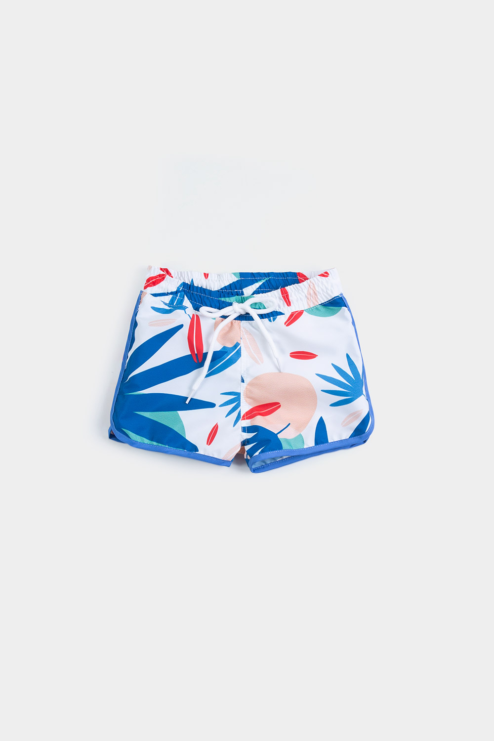Eco Friendly Swimwear / Tropical footprint short / New Collection Footprint 2020 front view