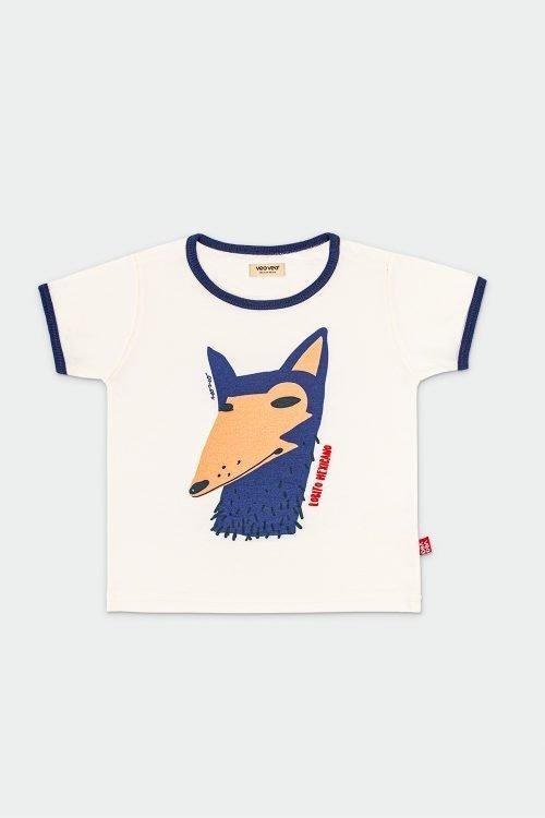 boy t shirt, organic cotton, wolf